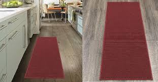 ottomanson osc8500 20x59 oscar collection runner rug 20 x 59 dark red is on for 9 75 at com