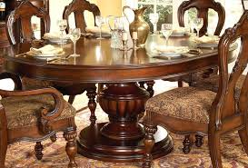 42 inch round pedestal table dining with erfly leaf