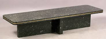 Choose a coffee table that is sturdy enough to withstand the weight of a solid granite slab. Stone Coffee Tables With Modern Style