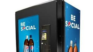 Old Pepsi Vending Machine For Sale Delectable Pepsi Vending Machine Lets You Gift Drinks To Friends Via Social