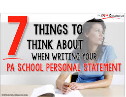 blog physician assistant school personal statement and essay personal statement it s important to cover all of the main topics adcoms look for in their applicants keep in mind that admissions panel members