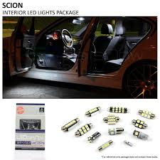 Scion Tc Dome Light Assembly Removal 2008 2015 Scion Xd Led Interior Lights Package