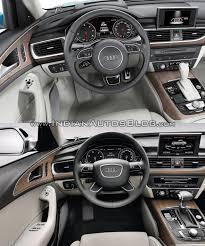 audi 2015 a6 interior. 2015 audi a6 facelift vs older model interior l