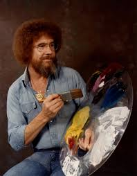 in the 1980s and 1990s ross was a fixture on pbs the joy of painting invited viewers to watch over ross shoulder as he created small masterpieces in
