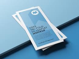 Free Download Brochure Tri Fold Brochure Mockup Bundle Mockup Love