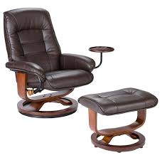 all leather recliner chairs southern enterprises leather recliner chair and ottoman in brown black leather recliner all leather recliner