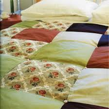 How to make a patchwork bedspread | Sewing | Pinterest | Bedspread ... & How to make a patchwork bedspread Adamdwight.com