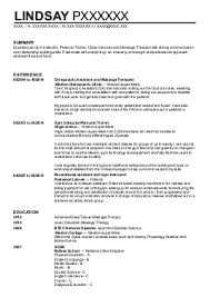sports massage therapist cv example  physioplus physiotherapy    lindsay p
