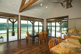 above and below series 9900 sliding glass doors with our custom transom windows