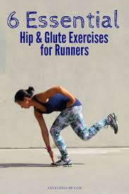 weak glutes are a mon among runners work on strengthening and ilizing your lower body with the 6 hip and glute exercises for runners