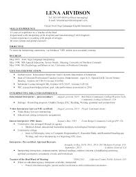 Interpreter Resume Objective Sign Asl Language Yeslogicsco Magnificent Interpreter Resume