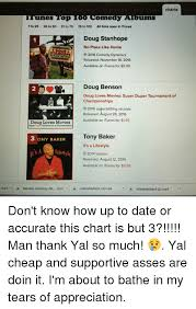 Charts Itunes Top O Omedy Abums 1 To 25 26 To 50 51 To 75 76