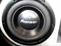 pioneer subs. pioneer subs 1