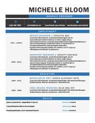 40 Creative Resume Templates [Unique NonTraditional Designs] Best Cool Resume