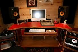 home recording studio desk best of free recording studio desk plans unique d i y pro audio studio