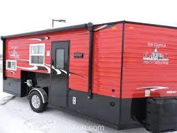 2017 ice castle 8x17 rv toy hauler