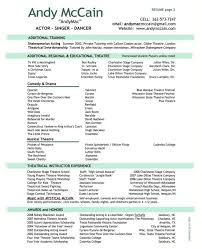 One Page Resume Or Two | Samples Of Resumes in Can A Resume Be Two Pages