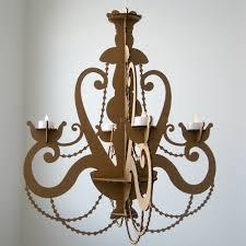 trendy diy tea light chandelier diy tea light chandelier