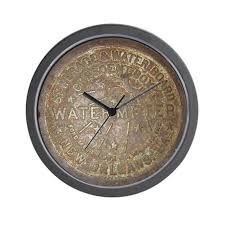 meter office products. beautiful meter office products old new orleans lid wall clock flmb throughout image