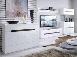 modern white gloss living room