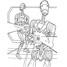 Star Wars Battle Coloring Pages At Getdrawingscom Free For