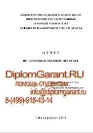 МичГАУ отчеты по практике МичГАУ отчет по производственной практике бухгалтерский учет анализ и аудит