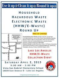 Small Blue Printer Garden Household Hazardous And Electronic Waste Event