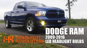 2016 Dodge Ram Fog Light Bulb Led Headlight Bulb Upgrade Kit For 2009 2016 Dodge Ram With Reflector Headlights