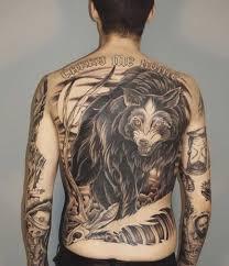 мужские татуировки на теле и их значение на спине на шее сбоку и