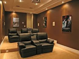 modern home theater furniture. modern home theater with brooklyn two seat black top grain leather recliner seating set furniture