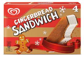 Walls Unveils New Gingerbread Sandwich Winter Ice Cream