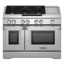 double oven with cooktop. Perfect With CommercialStyle SlideIn Double Oven Dual Fuel In With Cooktop