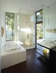 bathtub caddy ikea bathroom modern with glass shower wood floor dark wood floor
