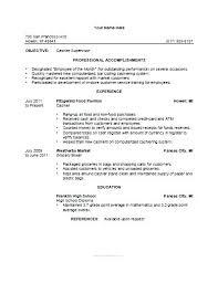 Deli Attendant Sample Resume Stunning Objective For Clerical Resume Deli Clerk Resume Objective Essay