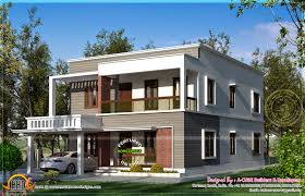 Square House Roof Design Flat Roof House In 262 Square Yards Kerala Home Design And
