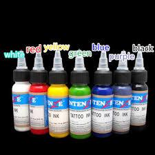 details about 30ml professional salon tattoo ink diy monochrome practice tattoo pigment ca