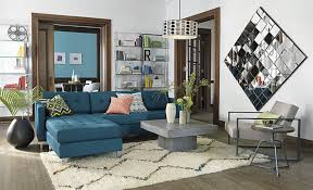 peacock blue furniture. Sectional Sofa In Peacock Blue Furniture S