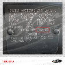 Isuzu Colour Chart Isuzu Touch Up Paint Find Touch Up Color For Isuzu Color