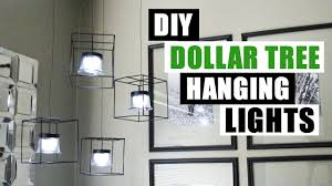 diy pendant lighting. DIY DOLLAR TREE HANGING LIGHTS Dollar Store Pendant Lighting Home Decor Project Diy