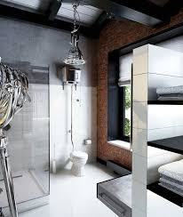 interior industrial lighting vanity vessel. 30 rock hard masculine bathroom inspirations interior industrial lighting vanity vessel a