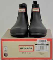 Us 12 retails for $95 + taxes *** if ad is up it's still for sale *** please look at. Hunter Women S Original Chelsea Rain Boots Size 7 Black