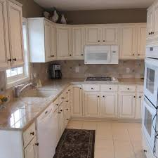 Contemporary Painting Oak Kitchen Cabinets White 25 And Glazing Ideas