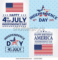 Fourth Of July Independence Day Greeting Card Poster Flyer