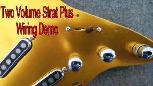 two volume strat plus wiring demo brighton rock gfs pickups two volume strat plus wiring demo brighton rock gfs pickups
