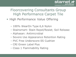 3 floorcovering consultants group high performance carpet tile