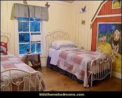 farm theme bedroom decorating ideas
