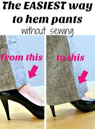 How To Hem Pants With A Sewing Machine Video