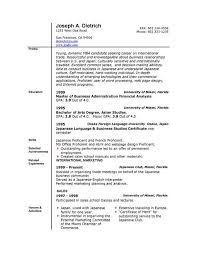 Microsoft Word 2007 Resume Templates Samples Resume Templates And
