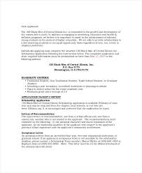 Recommendation Letter For Student Scholarship Pdf Employer Recommendation Letter Sample 9 Examples In Word With Regard