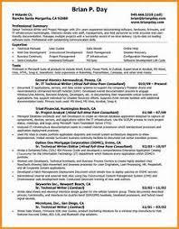 Technical Resume Template - Gcenmedia.com - Gcenmedia.com